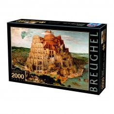 Puzzle 2000 pièces : Brueghel : La Tour de Babel