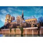 Puzzle 500 pièces - Paysages : Cathédrale Notre Dame de Paris