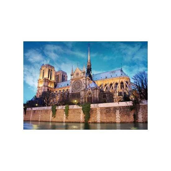 Puzzle 500 pièces - Paysages : Cathédrale Notre Dame de Paris - Dtoys-50328AB34