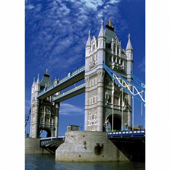 Puzzle 500 pièces - Paysages : Tower Bridge, Londres - Dtoys-50328AB16