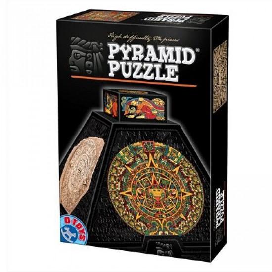 Puzzle 3D Pyramide 504 pièces - Art précolombien : Rosaces - DToys-66992PP02