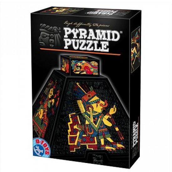 Puzzle 3D Pyramide 504 pièces -  Art précolombien - DToys-66992PP01