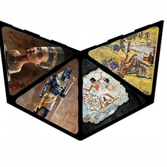 Puzzle 3D Pyramide 500 pièces -  Egype : Les Dieux - DToys-65957PP01