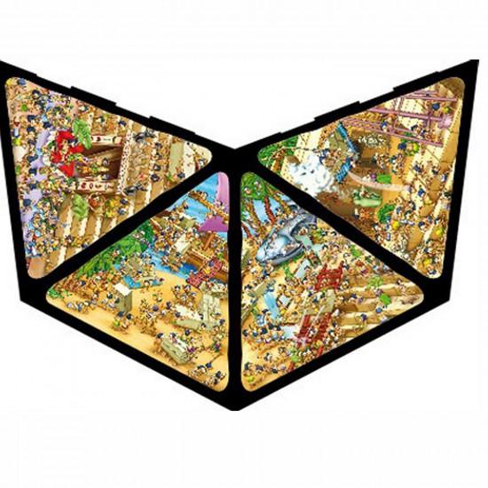 Puzzle 3D Pyramide 504 pièces - Egypte : Cartoon - DToys-65964PC01