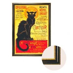 Toile avec cadre Art Print in Frame : Collection du Chat Noir