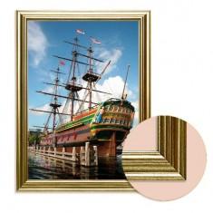 Toile avec cadre Art Print in Frame : Voilier Amsterdam, Nederlands Scheepvaartmuseum