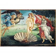 Puzzle 1000 pièces : Botticelli : La naissance de Vénus