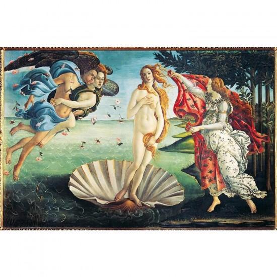 Puzzle 1000 pièces : Botticelli : La naissance de Vénus - Dtoys-72672BO01