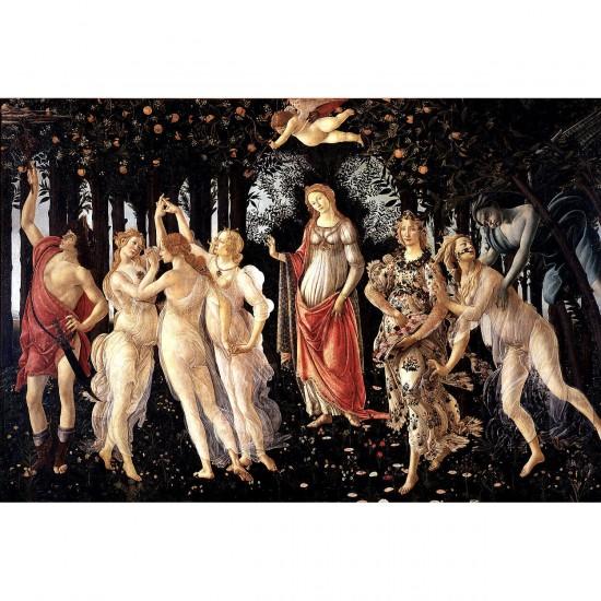Puzzle 1000 pièces : Botticelli : Le Printemps - Dtoys-72672BO02