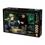 Puzzle 1000 pièces : Edouard Manet : Dans la serre