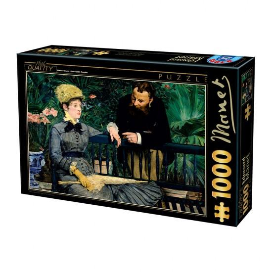 Puzzle 1000 pièces : Edouard Manet : Dans la serre - Dtoys-73068MA03