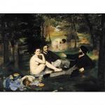 Puzzle 1000 pièces : Edouard Manet : Le Déjeuner sur l'herbe