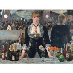 Puzzle 1000 pièces : Edouard Manet : Un bar aux Folies Bergère