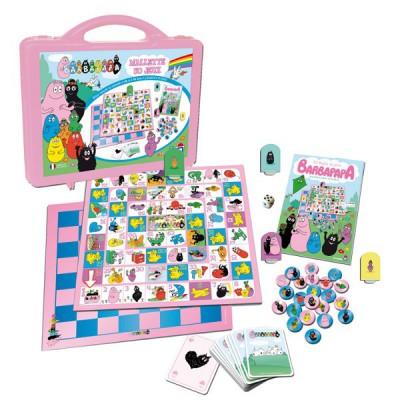 Barbapapa mallette 50 jeux dujardin magasin de jouets for Charlotte dujardin 50 50