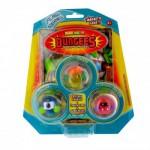 Figurines Bungees : Blister Flash : Hukivo Flash, Lojo Flash et Frozu Flash