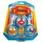 Figurines Bungees : Blister Flash : Vilkana Flash, Viklu Flash et Sarzy Flash
