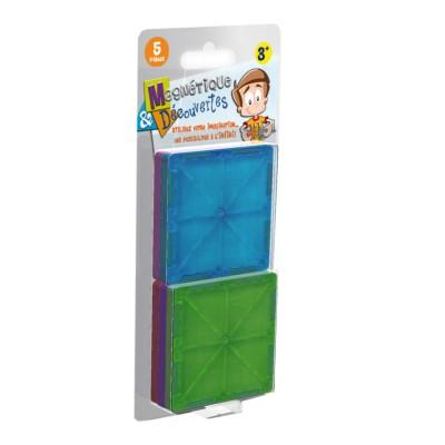 Jeu de construction magn tique d couvertes recharge 5 for Dujardin jouet