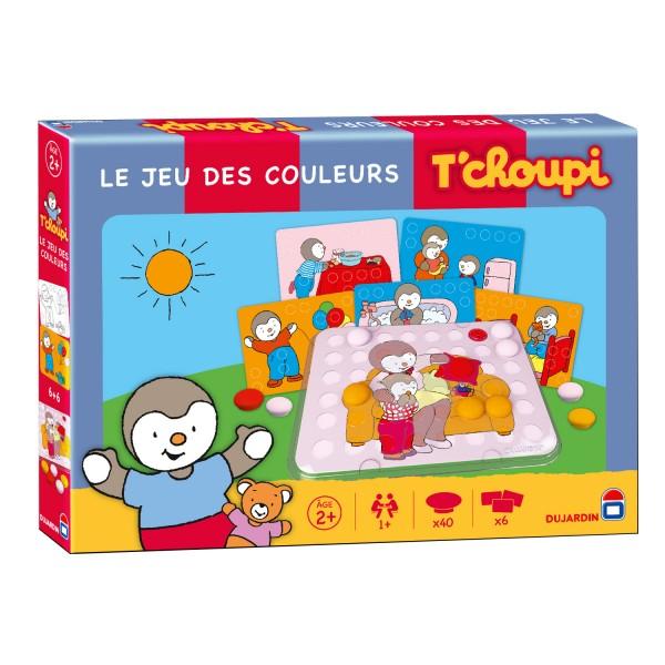 Le jeu des couleurs tchoupi jeux et jouets dujardin for Dujardin jouet