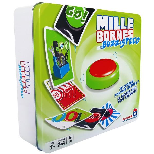 mille bornes buzz and speed jeux et jouets dujardin. Black Bedroom Furniture Sets. Home Design Ideas