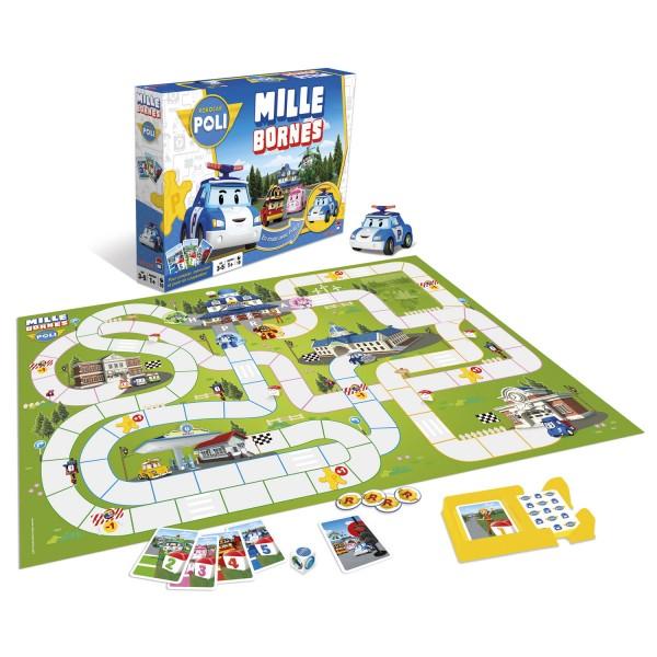 Mille bornes robocar poli jeux et jouets dujardin avenue des jeux - Robocar poli jeux gratuit ...