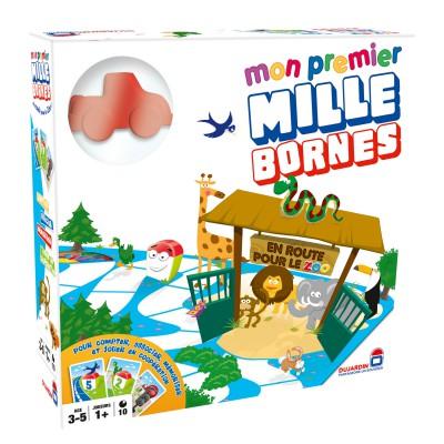 mon premier 1000 bornes tous au zoo jeux et jouets. Black Bedroom Furniture Sets. Home Design Ideas