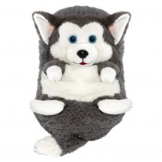 Peluche Cali Pets : Chien Husky Lucky