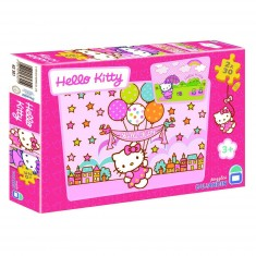 Puzzle 2 x 30 pièces - Hello Kitty : Les ballons
