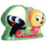 Puzzle 24 pièces : Caliméro et Priscilla