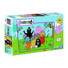 Puzzle 60 pièces - Barbapapa : L'anniversaire de Barbamama