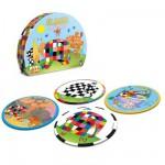 Puzzles de 3 à 6 pièces : 4 puzzles : Elmer