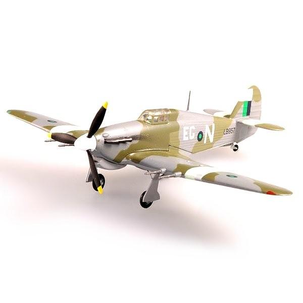 Modèle réduit : Hawker Hurricane MkII Trop. -34. Squadron: RAF Inde 1944 - Easymodel-EAS37270