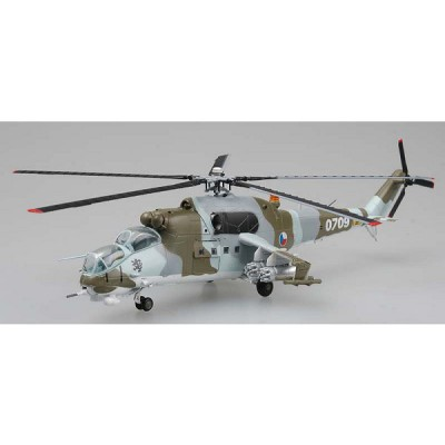 Modèle réduit : Hélicoptère MIL Mi-24 : Forces aériennes République Tchèque N°0709 - Easymodel-EAS37036