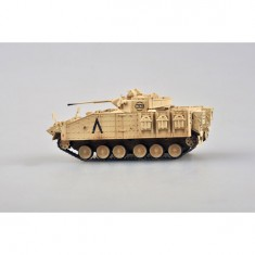 Maquette Char : MCV 80 (WARRIOR) 1st btn, Staffordshire Regt 7th Armoured Brigade
