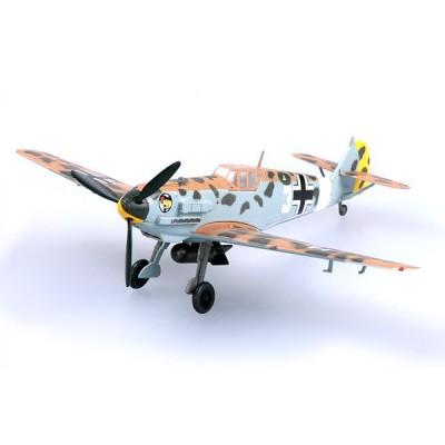 Modèle réduit : Messerschmitt BF-109E-7 Trop. 1./JG27 Hans Joachim Marseille : Lybie 1941 - Easymodel-EAS37279