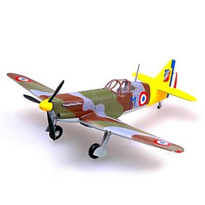 Modèle réduit : Dewoitine D.520 n0 343: Forces aériennes gouvernement de Vichy GCII/3 : Juin 1941 - Easymodel-EAS36335