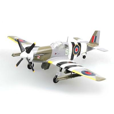 Modèle réduit : North American P-51B - Royal Air Force : FZ152. 1944 - Easymodel-EAS36356