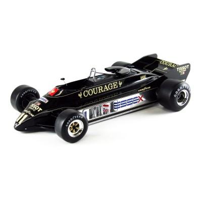 Maquette voiture : Lotus 88B 1981 Courage - Ebbro-EBR010