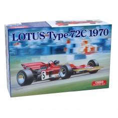 Maquette voiture : Lotus Type 72C 1970