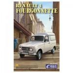 Maquette voiture :  Renault 4 Fourgonnette