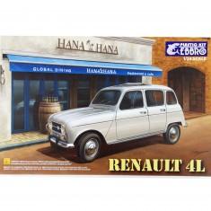Maquette voiture : Renault 4L