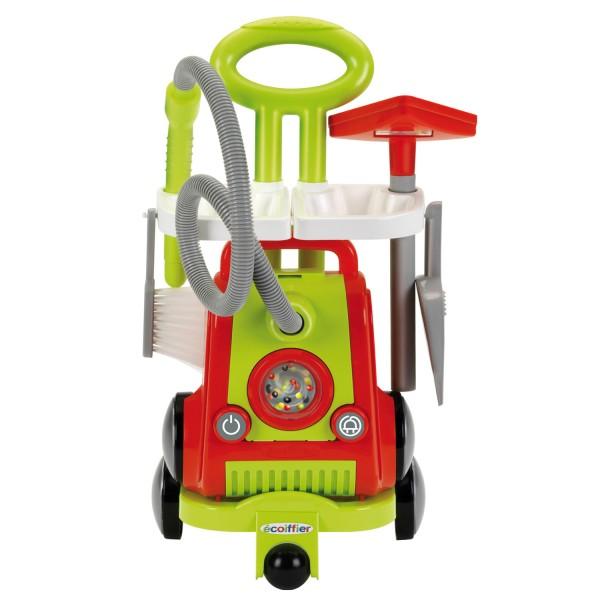 aspirateur et chariot de m nage jeux et jouets ecoiffier. Black Bedroom Furniture Sets. Home Design Ideas