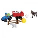 Briques de construction Abrick : Animaux de la ferme et tracteur