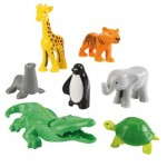 Briques de construction Abrick : Animaux du zoo
