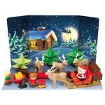 Briques de construction Abrick : Calendrier de l'avent Le Père Noël