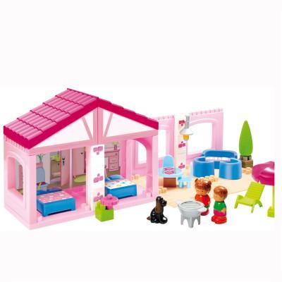 briques de construction abrick pavillon jeux et jouets ecoiffier avenue des jeux. Black Bedroom Furniture Sets. Home Design Ideas