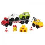 Briques de construction Abrick : Transport de véhicules