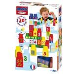 Briques de construction Maxi Abrick : Pack de 30 chiffres