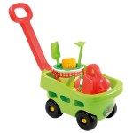 Chariot de jardin garni