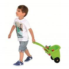 Chariot de jardinage et ses outils