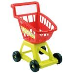 Chariot de supermarché vide